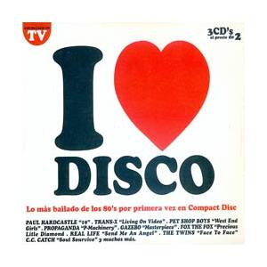 Cover - Koxo: I Love Disco Vol. 1
