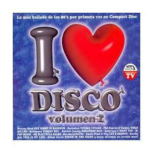I Love Disco Vol. 2 - Cover