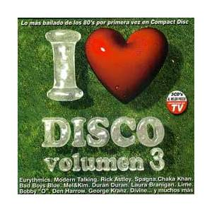 Cover - Alan Cook: I Love Disco Vol. 3