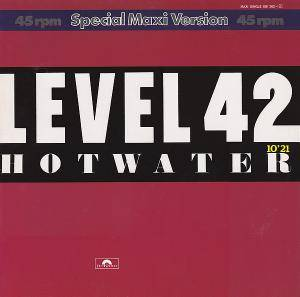 Level 42: Hot Water - Cover