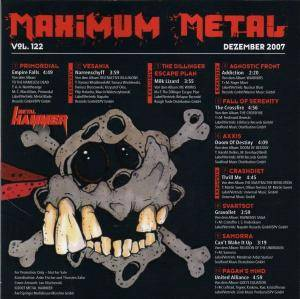 Metal Hammer - Maximum Metal Vol. 122 (CD) - Bild 2