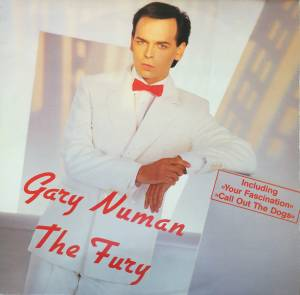 Gary Numan: Fury, The - Cover