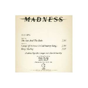 Madness: Sun And The Rain, The - Cover