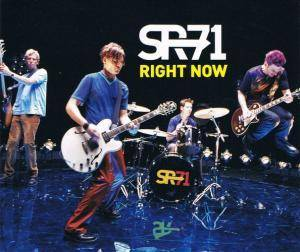 SR-71: Right Now - Cover