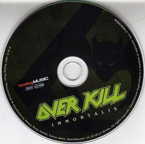 Overkill: Immortalis (CD) - Bild 3