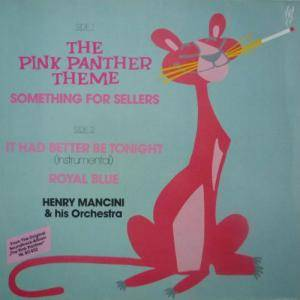 Henry Mancini And His Orchestra: Pink Panther Theme, The - Cover