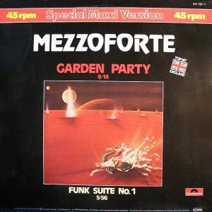 Mezzoforte: Garden Party - Cover