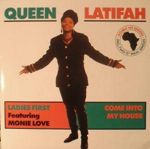 Cover - Queen Latifah: Ladies First / Come Into My House