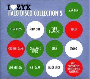 I Love ZYX Italo Disco Collection 05 - Cover