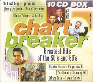 Chart Breaker - Greatest Of The 50's And 60's - Cover