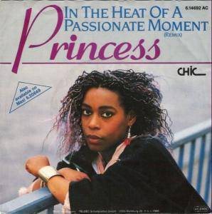 Princess: In The Heat Of A Passionate Moment - Cover