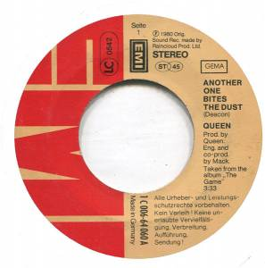 "Queen: Another One Bites The Dust (7"") - Bild 3"
