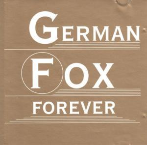 German Fox Forever - Cover