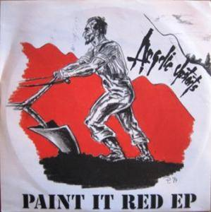Cover - Angelic Upstarts: Paint It Red