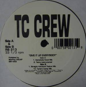 Cover - TC Crew: Give It Up Everybody