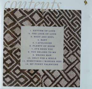 Anita Baker Rhythm Of Love Cd 1994