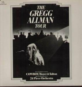 Cover - Gregg Allman: Gregg Allman Tour, The