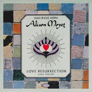 Alison Moyet: Love Resurrection - Cover
