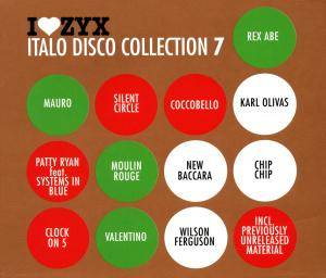 I Love ZYX Italo Disco Collection 07 - Cover