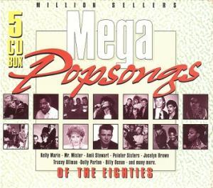 Mega Popsongs Of The Eighties - Cover