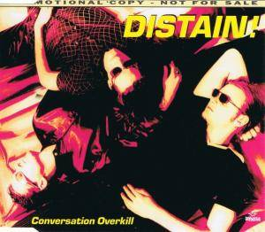 Cover - !distain: Conversation Overkill