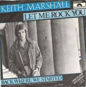 Cover - Keith Marshall: Let Me Rock You
