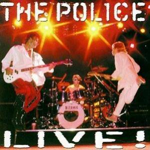 The Police: Live! - Cover