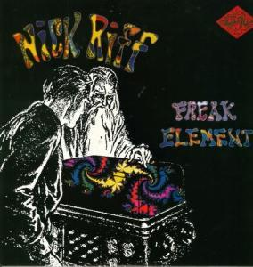 Nick Riff: Freak Element - Cover