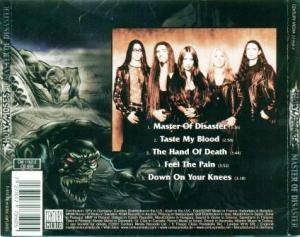 Holy Moses: Master Of Disaster (Mini-CD / EP) - Bild 5