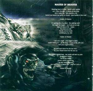 Holy Moses: Master Of Disaster (Mini-CD / EP) - Bild 6