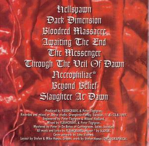 Fleshcrawl: Bloodred Massacre (CD) - Bild 3