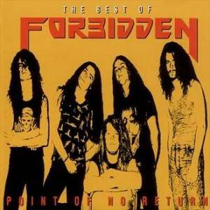 Forbidden: Point Of No Return - The Best Of Forbidden - Cover
