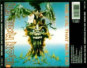 Iron Maiden: Can I Play With Madness / The Evil That Men Do (Mini-CD / EP) - Bild 2