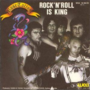 Rose Tattoo: Rock 'n' Roll Is King - Cover