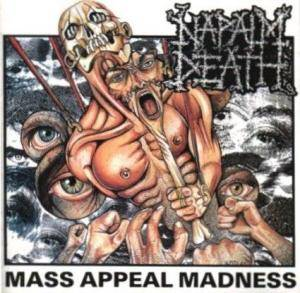 Napalm Death: Mass Appeal Madness - Cover