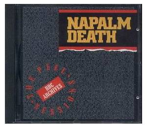 Napalm Death: Peel Sessions, The - Cover