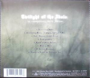 Gorgoroth: Twilight Of The Idols - In Conspiracy With Satan (CD) - Bild 3
