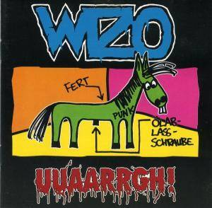 WIZO: UUAARRGH! - Cover