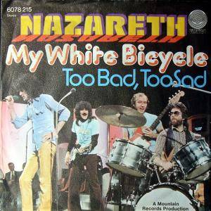 Nazareth: My White Bicycle - Cover