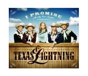 Cover - Texas Lightning: I Promise (All My Love Tonight)