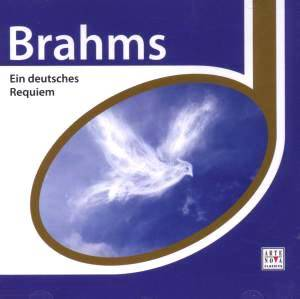 Johannes Brahms: Ein Deutsches Requiem Op. 45 - Cover