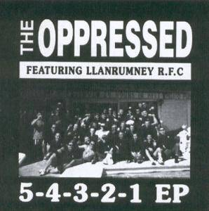 Cover - Oppressed, The: 5-4-3-2-1 EP