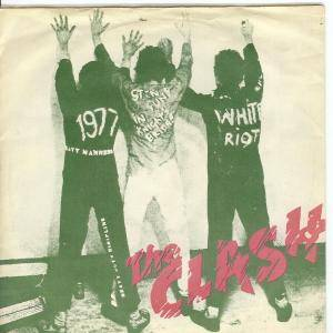The Clash: White Riot / 1977 - Cover