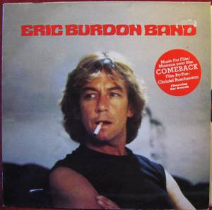 The Eric Burdon Band: Comeback Soundtrack, The - Cover