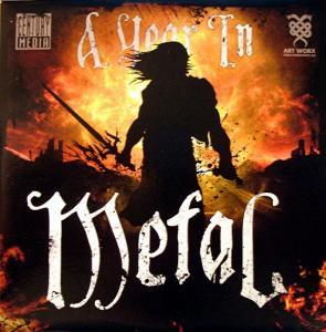 Year In Metal, A - Cover