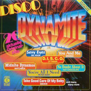 Cover - Boss: Disco Dynamite