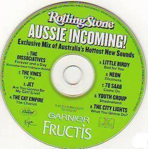 Aussie Incoming! - Cover