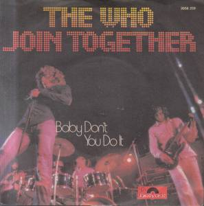 The Who: Join Together - Cover