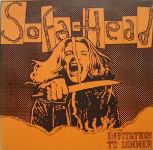 Sofa Head: Invitation To Dinner - Cover