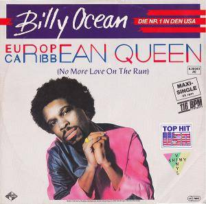 Billy Ocean: European Queen - Cover